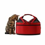 View Image 4 of Sleepypod Mobile Pet Carrier Bed - Strawberry Red
