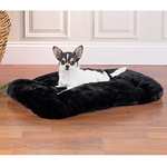 View Image 1 of Slumber Pet Cloud Cushion - Night Shadow Black
