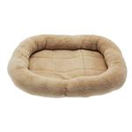 View Image 1 of Slumber Pet Comfy Crate Dog Bed - Tan
