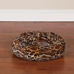View Image 2 of Slumber Pet Cozy Kitty Bed - Cheetah