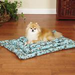 View Image 1 of Slumber Pet Hoot and Howl Canvas Dog Mat