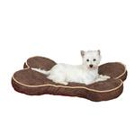 View Image 1 of Slumber Pet Suede Bone Beds for Pet - Chocolate