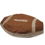 View Image 1 of Slumber Pet Superstar Nappers Dog Bed - Football