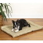 View Image 1 of Slumber Pet Water-Resistant Dog Bed - Tan