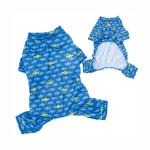 View Image 2 of Smiley Shark Dog Pajamas by Klippo
