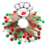Smoochers Pet Scrunchie - Christmas Fuzzy Wuzzy