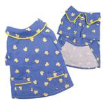 View Image 2 of Snoozy Yellow Ducky Dog Pajamas by Klippo