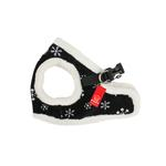 View Image 1 of Snowflake Dog Harness Vest by Puppia - Black