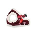 View Image 1 of Snowflake Dog Harness Vest by Puppia - Wine