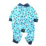 Snowman Dog Pajamas - Blue