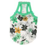 View Image 1 of Soft Spice Dog Tank by Puppia - Green
