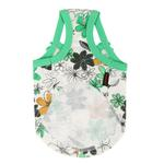 View Image 2 of Soft Spice Dog Tank by Puppia - Green