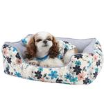 View Image 1 of Soft Spice House Dog Bed by Puppia - Blue