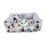View Image 2 of Soft Spice House Dog Bed by Puppia - Blue
