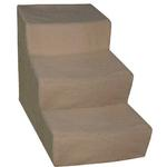 View Image 2 of Soft Step Pet Stairs - Cocoa