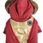 View Image 4 of Soothing Dog Coat by Puppia - Wine