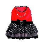 View Image 1 of Sophia Polka Dot Party Dog Dress