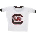 View Image 1 of South Carolina Gamecocks Dog Jersey - White