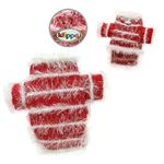 Sparkling Red and White Dog Sweater by Klippo