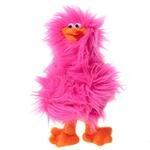 Spring Chicken Dog Toy - Hot Pink