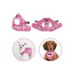 View Image 2 of Spring Dog Harness Vest by Puppia - Pink