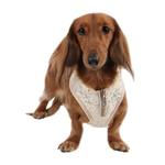 View Image 2 of Spring Gala Dog Harness by Puppia - Beige