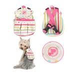 View Image 2 of Sprinkles Backpack for Dogs by Pinkaholic - Pink