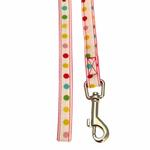 View Image 2 of Sprinkles Dog Leash by Pinkaholic - Pink