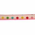 View Image 3 of Sprinkles Dog Leash by Pinkaholic - Pink