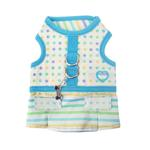 View Image 1 of Sprinkles Flirt Harness Dress by Pinkaholic - Blue