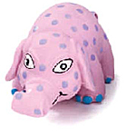 View Image 1 of Squeeze Meeze Elephant Dog Toy