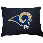 View Image 1 of St. Louis Rams Dog Bed