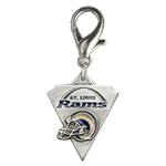 View Image 1 of St. Louis Rams Pennant Dog Collar Charm