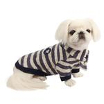 View Image 1 of Stanza Dog Sweater by Pinkaholic - Navy