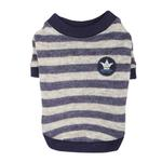 View Image 3 of Stanza Dog Sweater by Pinkaholic - Navy