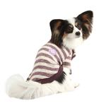 View Image 1 of Stanza Dog Sweater by Pinkaholic - Purple