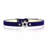 View Image 3 of Star of David Charm Dog Collar