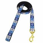 Star of David Dog Leash by Up Country