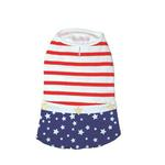 View Image 2 of Star Spangled Dog Dress by Dogo