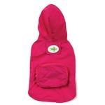 View Image 1 of Stowaway Rain Jacket by Zack & Zoey - Raspberry