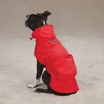 View Image 1 of Stowaway Rain Jacket by Zack & Zoey - Tomato Red