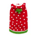 Strawberry Dog Sweater by Dogo - Red