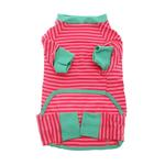View Image 2 of Striped Dog Pajamas - Pink
