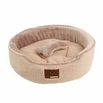 View Image 2 of Suave Dog Bed by Puppia - Beige