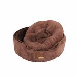 View Image 2 of Suave Dog Bed by Puppia - Brown