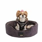 View Image 1 of Suave Dog Bed by Puppia - Gray