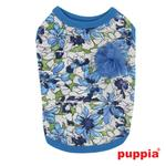 View Image 1 of Sultry Dog Shirt by Puppia - Blue
