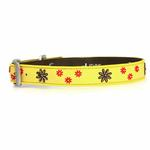 View Image 1 of Sun Spot Daisy Daze Dog Collar