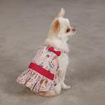 View Image 1 of Sundae Dog Sundress by Zack & Zoey - Pink