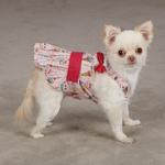 View Image 3 of Sundae Dog Sundress by Zack & Zoey - Pink